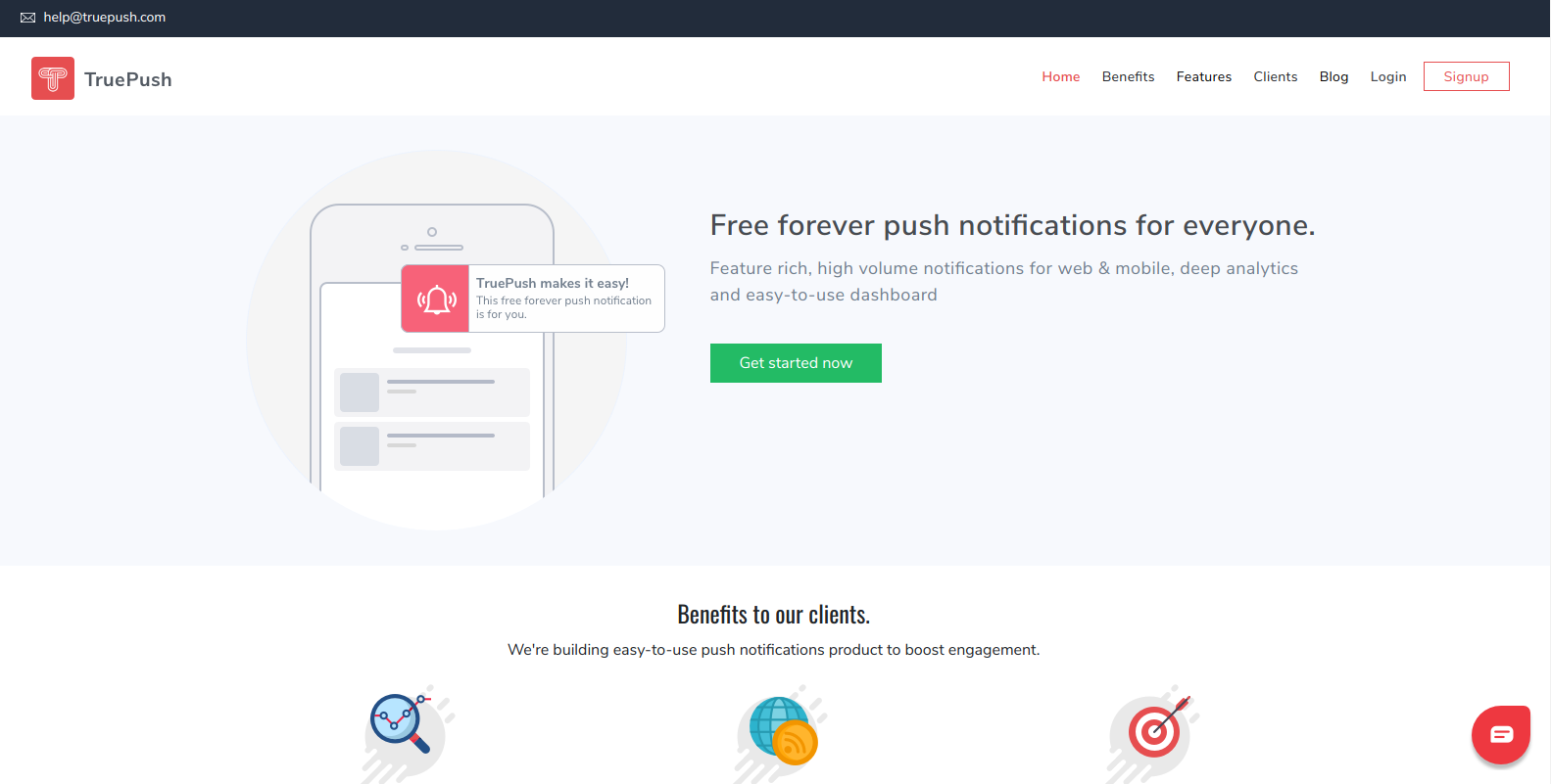 Top free push Notification service