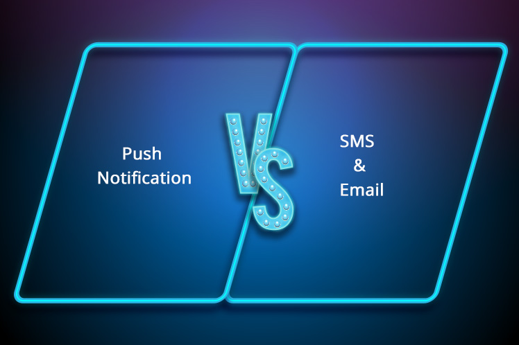 push notifications better than email and sms