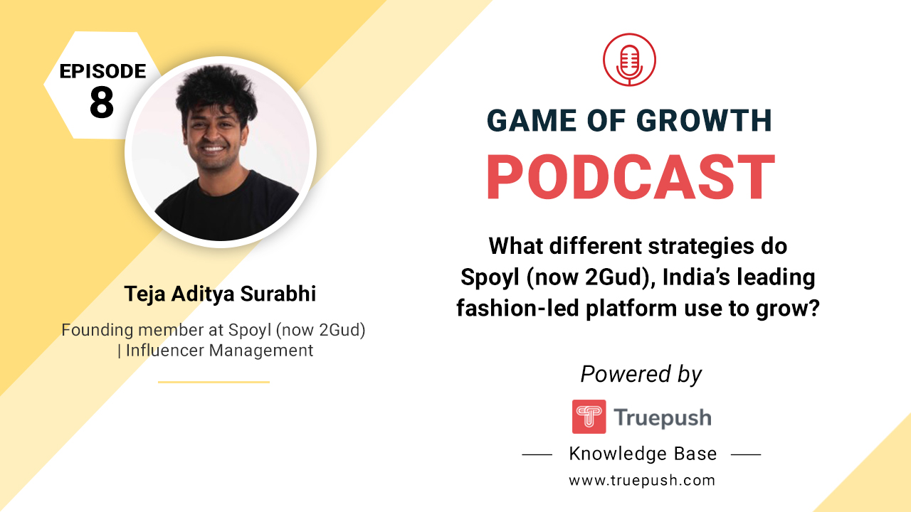 Podcast Poster for Game of Growth podcast