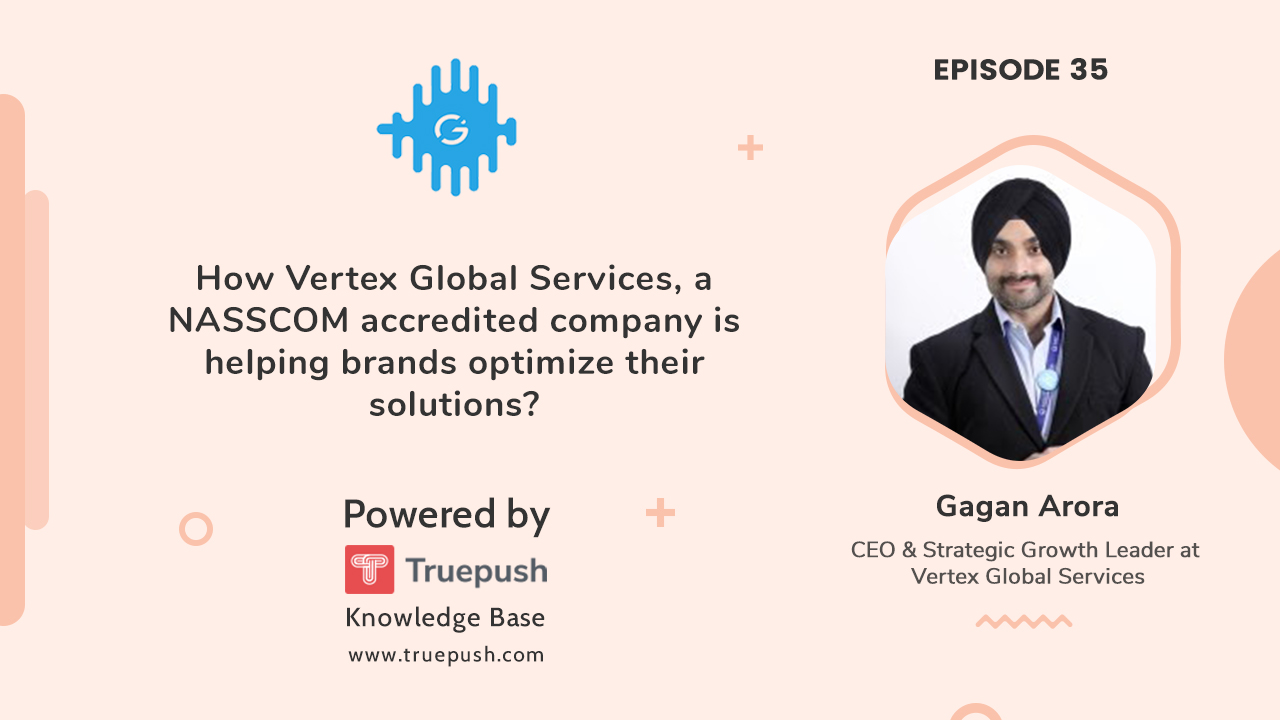podcast with Vertex global services